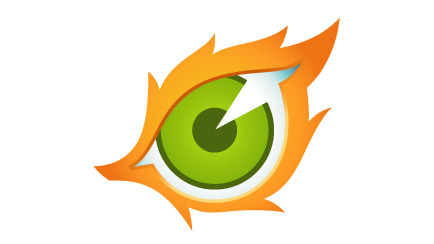 Which version of Big Brother does this eye logo belong to?