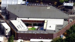 Aerial view of the Big Brother UK house