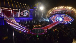 Celebrity Big Brother 2016 live show stage