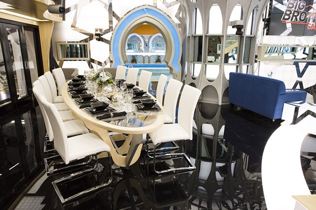 Big Brother Canada 4 house - dining area