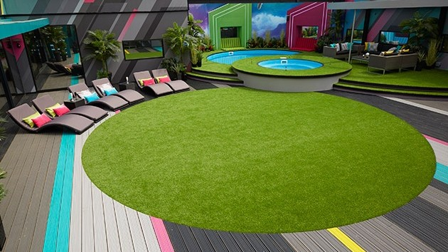 Big Brother 2016 UK house - garden