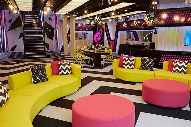 Big Brother 2016 UK house - living room