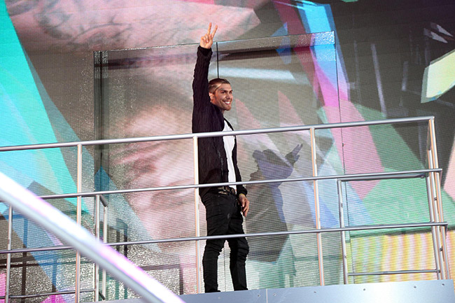 Big Brother 2016 live launch show - Marco Pierre White Jnr