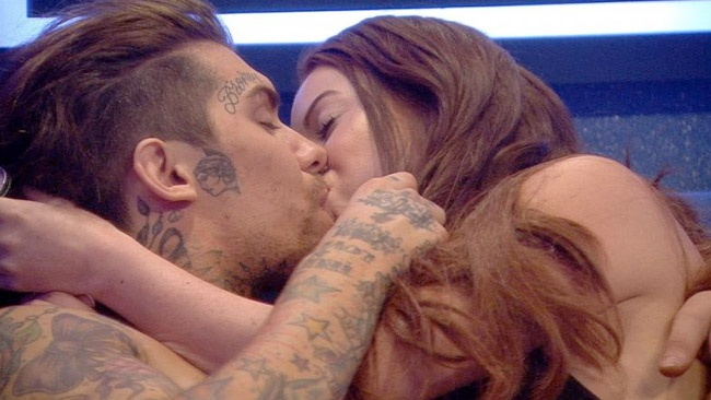 Big Brother 2016 - Marco Pierre White Junior and Laura Carter