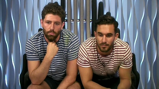 Big Brother 2016 - Sam Giffen and Alex Cannon evicted