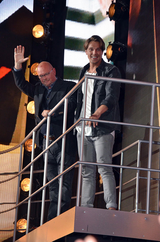 Celebrity Big Brother summer 2016 - Lewis Bloor and James Whale fifth and sixth evicted