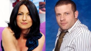 Former Big Brother presenters Davina McCall and Dermot O'Leary