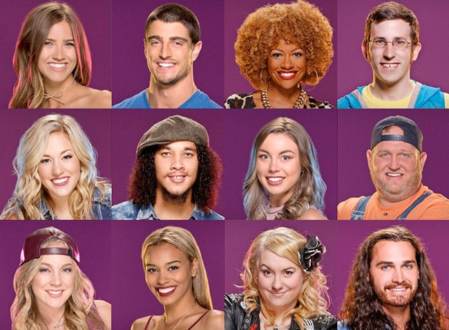 Big Brother Over The Top houseguests