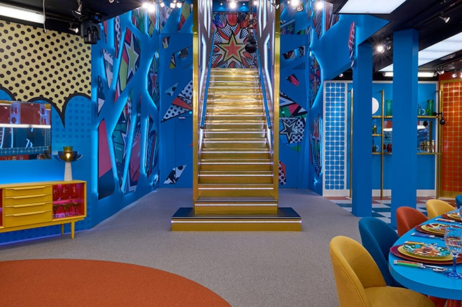Celebrity Big Brother 2017 All Stars/New Stars house pictures - entrance