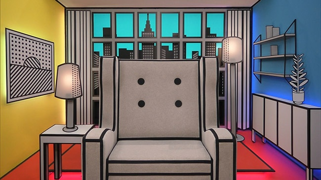 Celebrity Big Brother 2017 All Stars and New Stars - Diary Room Chair