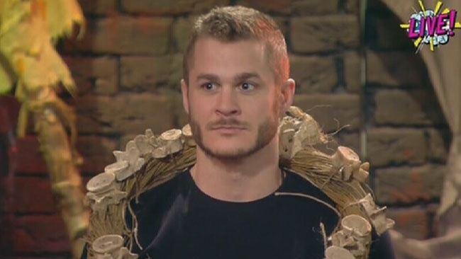 Celebrity Big Brother 2017 All Stars/New Stars - Austin Armacost reacts to news he's been evicted from house in shock twist