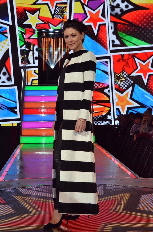 Celebrity Big Brother 2017 All Stars/New Stars final - presenter Emma Willis