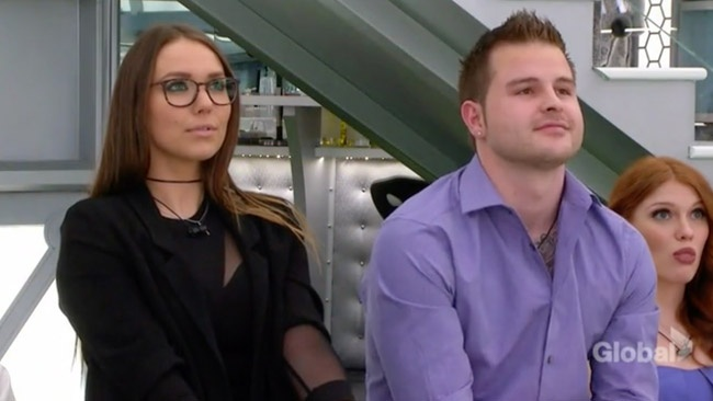 Big Brother Canada 5 BBCAN5 - Emily Hawkin and Dallas Cormier