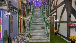Big Brother 2017 house - entrance stairs