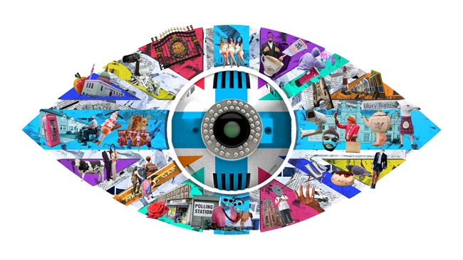 Big Brother 2017 eye logo - 'United Kingdom of Big Brother'