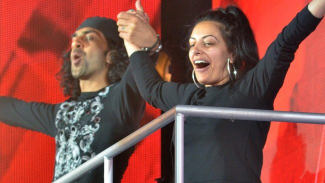 Big Brother 2017 - second evictee Imran Javeed joined by wife Sukhvinder as she walks out of the house