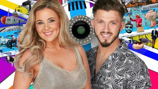 Big Brother 2017 housemates - Rebecca Jane and Kieran Lee