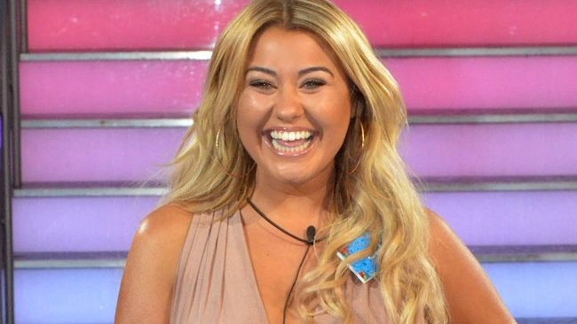 Big Brother 2017 live launch - Ellie Young