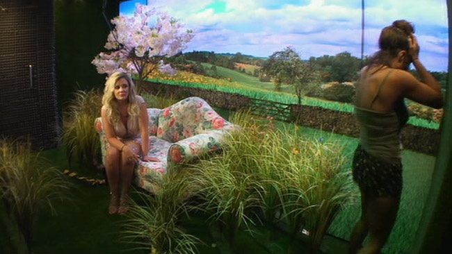 Big Brother 2017 - Kayleigh Morris paces the Diary Room after explosive argument with Chanelle McCleary