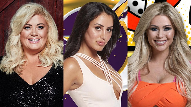 Big Brother 2017 celebrity guests Gemma Collins, Marnie Simpson and Nicola McLean