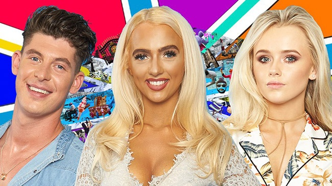 Big Brother 2017 - potential new housemates Sam Chaloner, Isabelle Warburton and Savannah O'Reilly