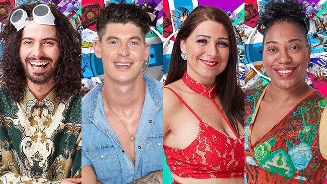Big Brother 2017 - rejected housemates Andrew, Sam, Simone and Sue return for second chance
