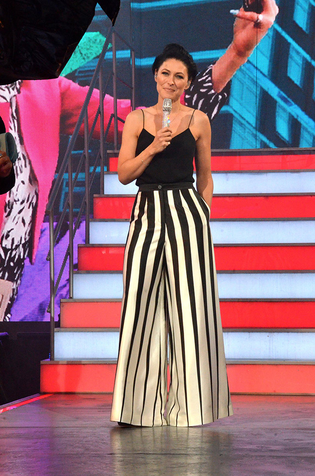 Big Brother 2017 final - presenter Emma Willis