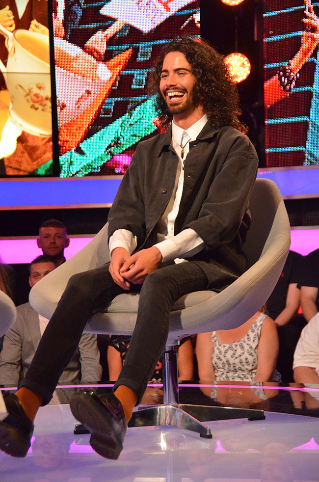 Big Brother 2017 final - Second Chance winner Andrew Cruickshanks