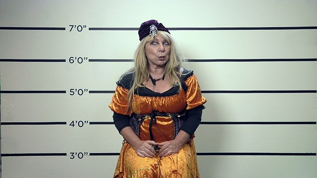 Celebrity Big Brother summer 2017 - Criminal Case murder mystery task mugshots - Helen Lederer