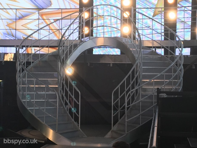 Celebrity Big Brother summer 2017 - bbspy exclusive launch night house tour: Live show set