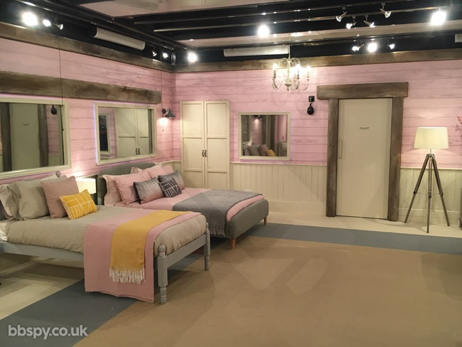 Celebrity Big Brother summer 2017 - bbspy exclusive launch night house tour: Blossom Suite bedroom