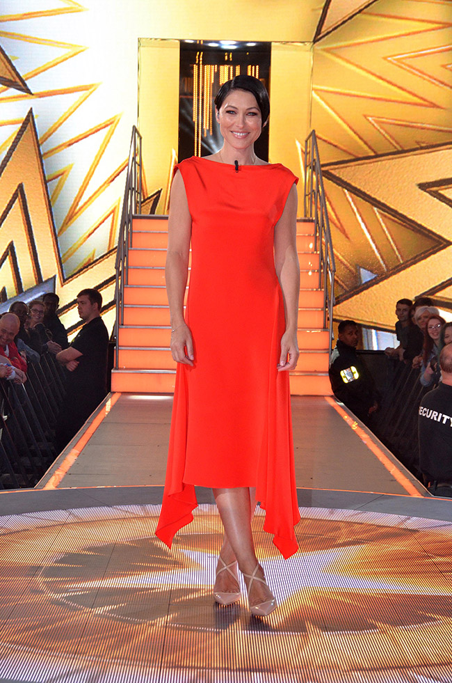 Emma Willis presents the sixth and seventh Celebrity Big Brother summer 2017 evictions