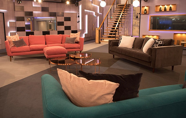 Celebrity Big Brother 2018 house pictures - lounge