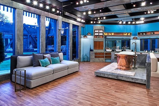 Celebrity Big Brother 2018 house pictures - bathroom