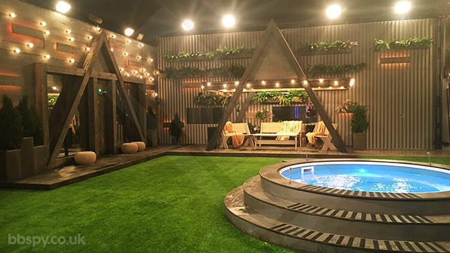 Celebrity Big Brother 2018: Year Of The Woman   Bbspy Exclusive House Tour    Garden