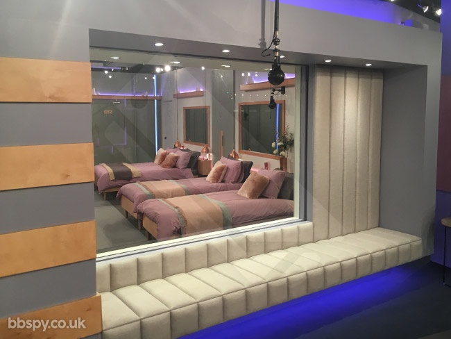 Celebrity Big Brother 2018: Year Of The Woman - bbspy exclusive house tour - Bedroom from lounge