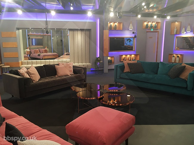 Celebrity Big Brother 2018: Year Of The Woman - bbspy exclusive house tour - Lounge