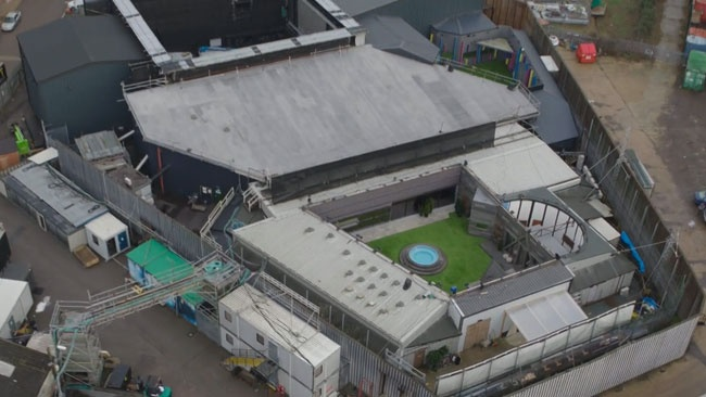 Aerial view of the Celebrity Big Brother 2018 house