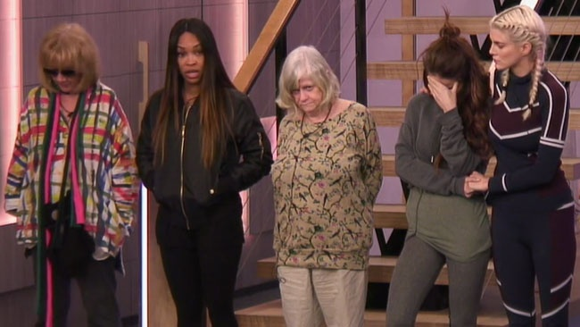 Celebrity Big Brother 2018 - Women announce their decision to evict John Barnes