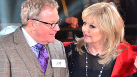 Celebrity Big Brother 13 January 2014 launch night - Jim Davidson and Linda Nolan