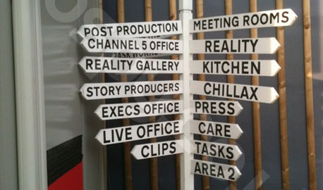 Big Brother 2012 Behind The Scenes - Signpost