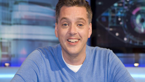 Big Brother's Bit On The Psych presenter Iain Lee