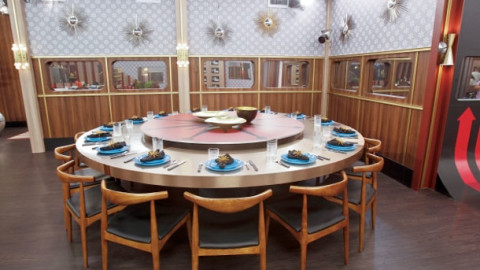 Big Brother 15 USA house - dining area