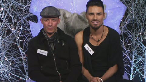 Celebrity Big Brother 2013 - Frankie Dettori and Rylan Clark