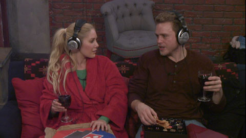 Celebrity Big Brother 2013 - Heidi Montag and Spencer Pratt