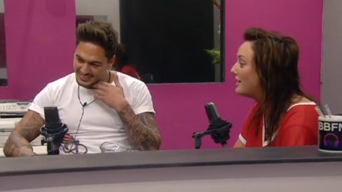 Celebrity Big Brother 12 summer 2013 - Mario Falcone, Charlotte Crosby