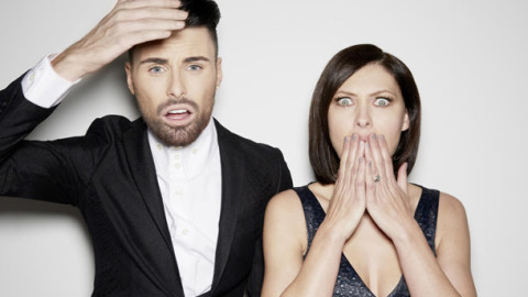 Celebrity Big Brother 2014 presenters - Emma Willis and Rylan Clark