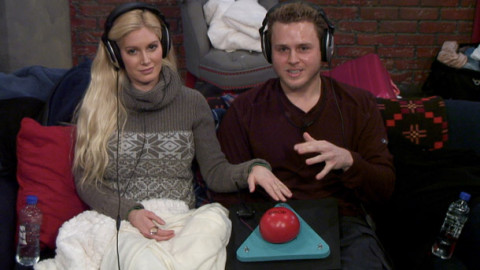 Spencer and Heidi in the basement: Not a set-up (or so Big Brother wants you to think)