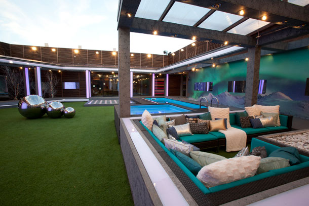 Celebrity Big Brother 2013 house - Garden