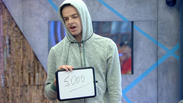 Big Brother 2015: Nick Henderson bids £5,000 of the prize fund to make the final in Cash Bomb twist